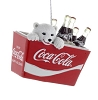 2019 Coca Cola Polar Bear Cub in Cooler