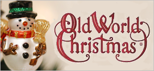 Old World Christmas Blown Glass