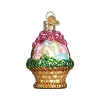 Easter Basket - Old World Christmas Blown Glass