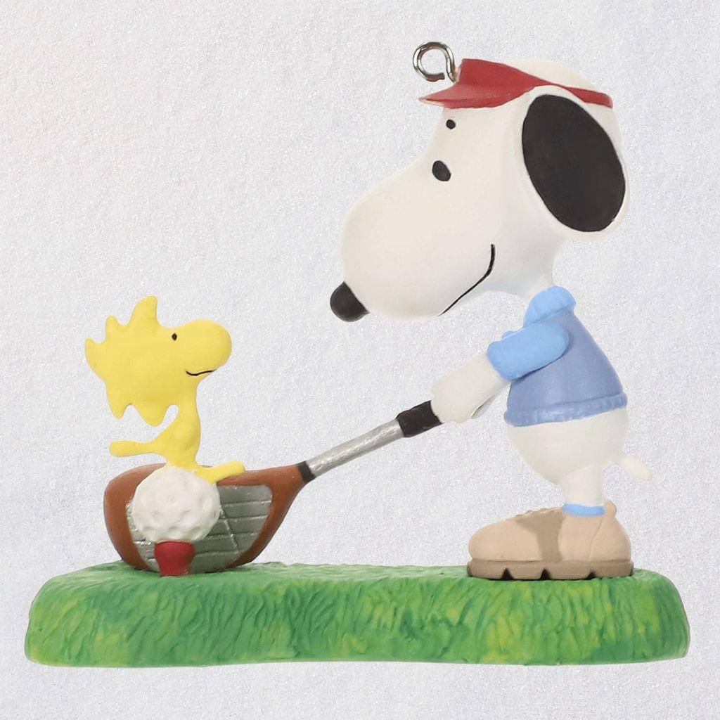 Snoopy Christmas Tree Topper: 2019 Spotlight On Snoopy Golfer Snoopy Hallmark Christmas