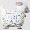2019 Love Your Spirit Godchild Ornament