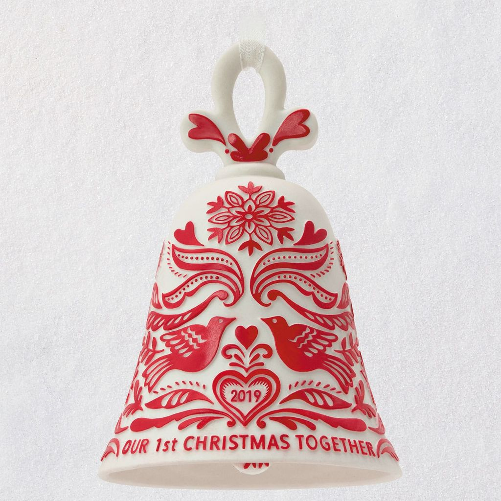 Hallmark Christmas In July 2019 Ornaments.2019 Our First Christmas Together Ships July 15
