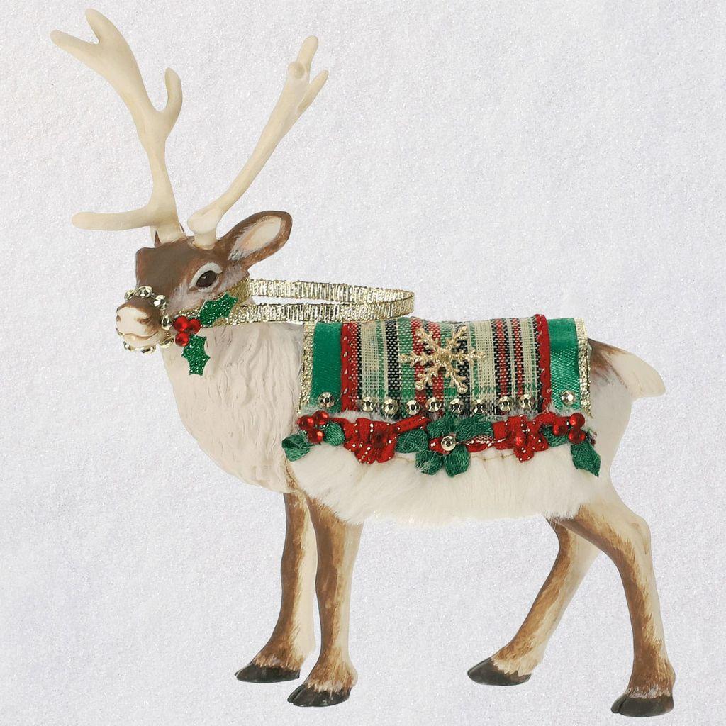 Christmas Reindeer.2019 Father Christmas Reindeer Limited Edition