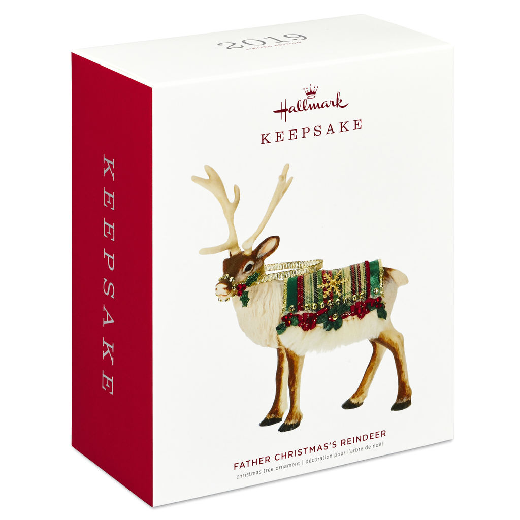 Father Christmas Reindeer 2020 2020 Father Christmas Reindeer Hallmark Christmas Ornament