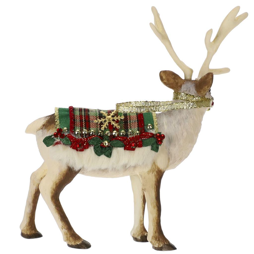 2019 Father Christmas Reindeer Hallmark Christmas Ornament