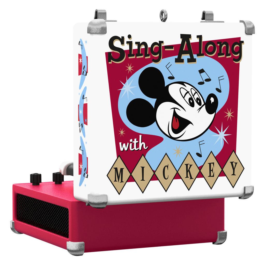 Disney Mickey Mouse Record Player Hallmark Christmas