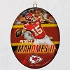 2019 NFL PATRICK MAHOMES II Kansas CIty Chiefs Ceramic Ornament