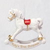 2019 Baby's First Christmas Rocking Horse Ornament