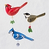 2019 Beauty of Birds Outdoor Bird Ornament Set