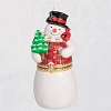 2019 Limoges Snowman - Premium HINGED - click for video