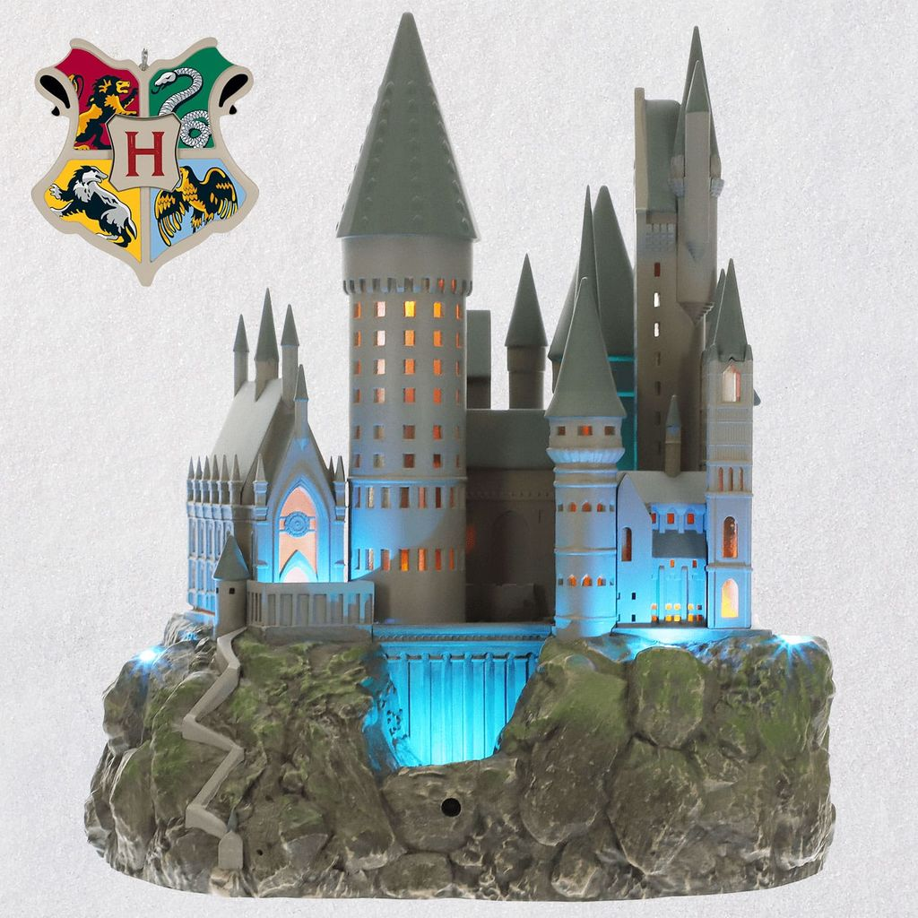 2019 Harry Potter, Hogwarts Castle Tree Topper Hallmark
