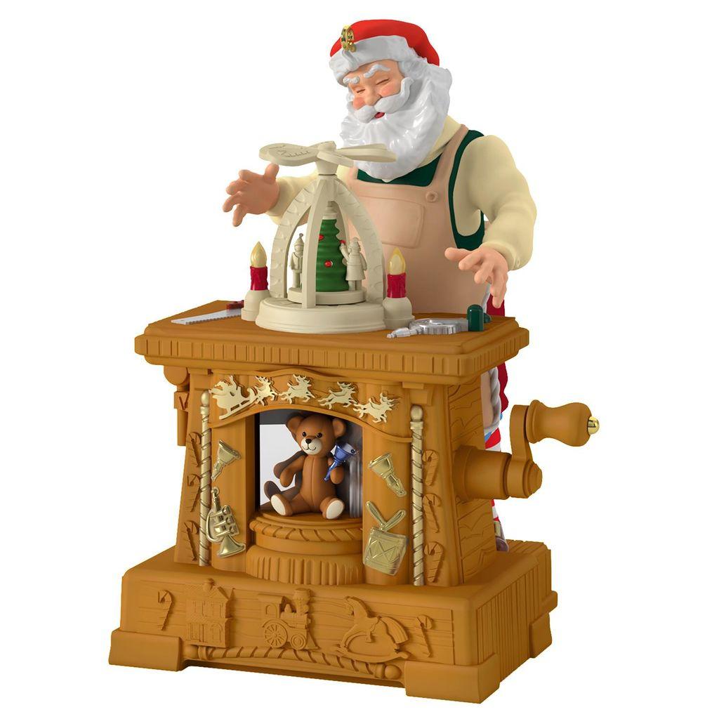 Hallmark 2019 Christmas Ornaments 2019 Toymaker Santa Hallmark Keepsake Ornament   Hooked on