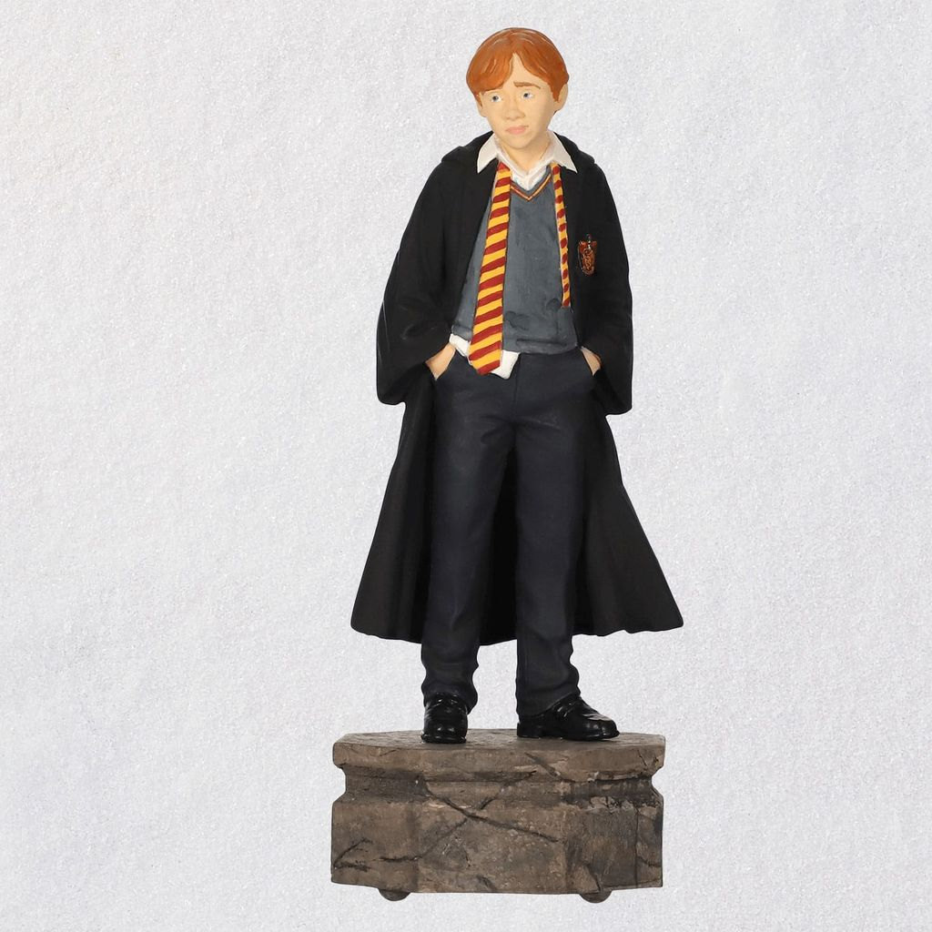 Harry Potter Christmas Tree Topper: 2019 Ron Weasley Harry Potter Hallmark Keepsake Ornament