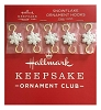 2019 Snowflake Ornament Hooks - Set of 5