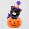 2019 Halloween, Tiny Black Cat - MINIATURE