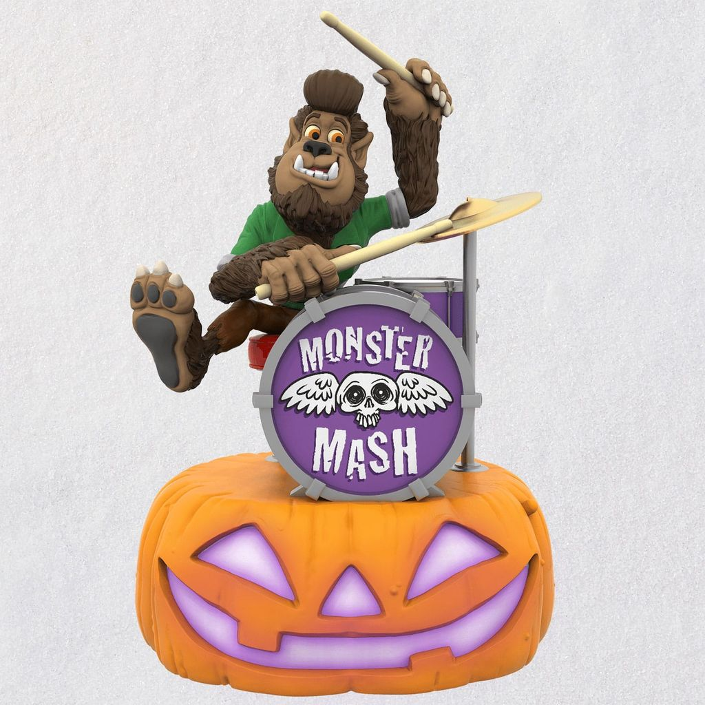 2019 Halloween Monster Mash WOLFGANG on DRUMS