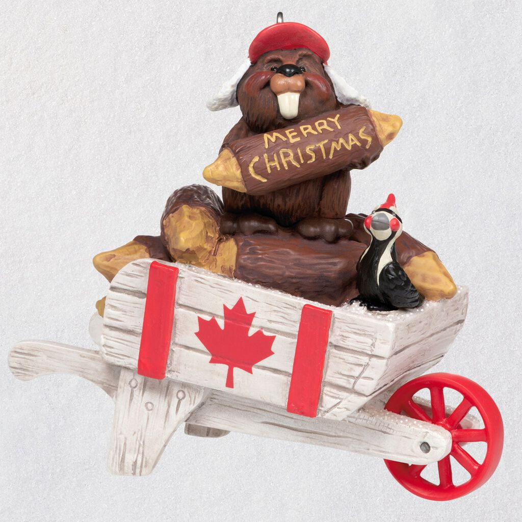2020 Christmas In Canada Ornament