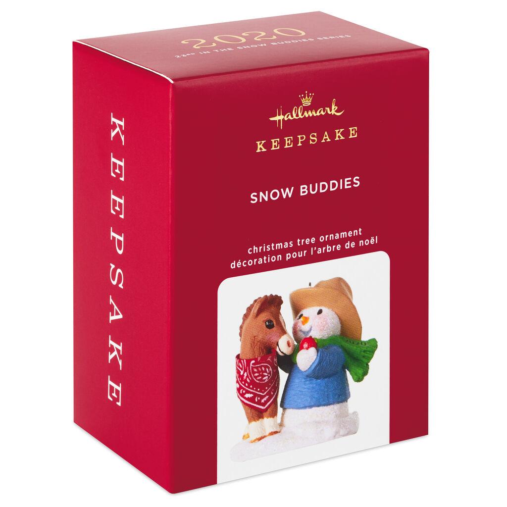 2020 snow buddies hallmark christmas ornament  hooked on
