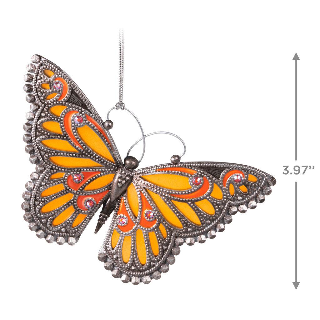 Hallmark 2020 Brilliant Butterflies series Keepsake Ornament 4th butterfly