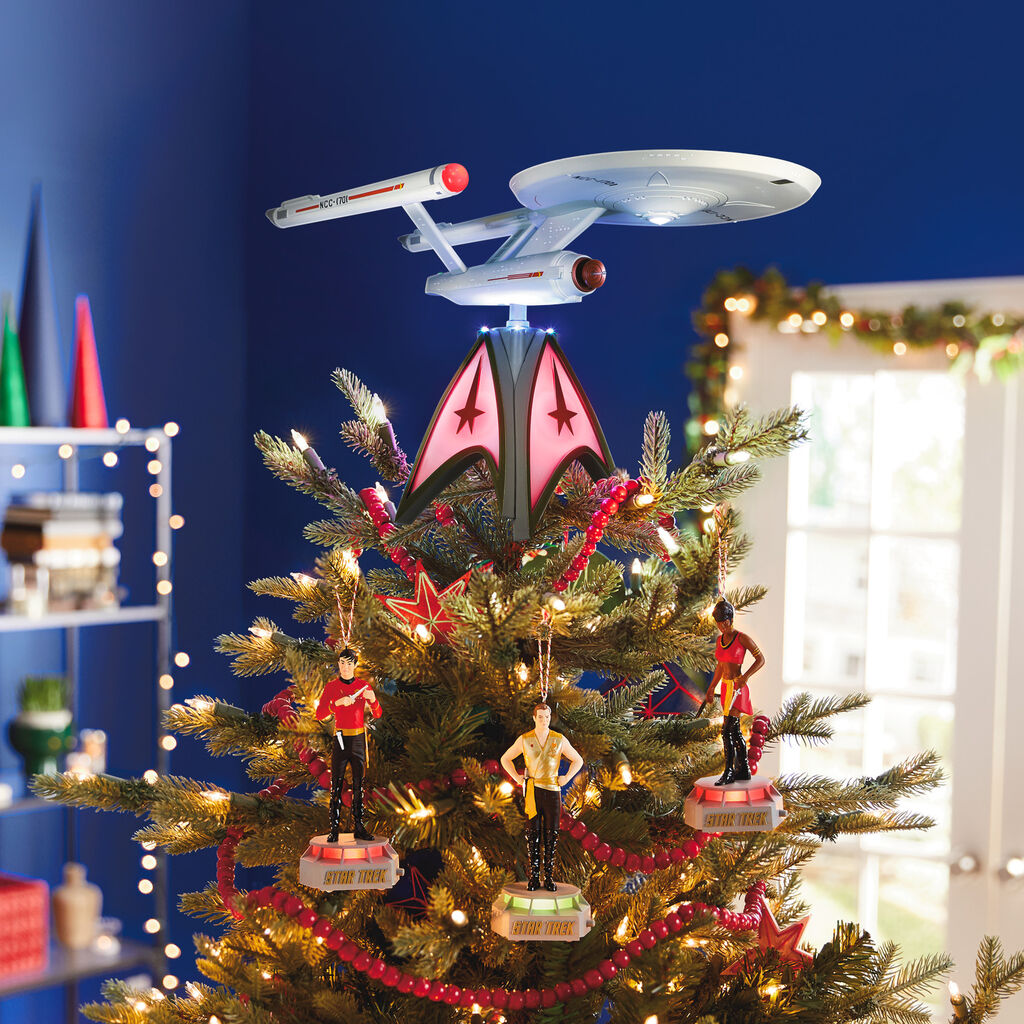 Christmas Tree Toppers 2020 2020 Star Trek USS Enterprise Tree Topper Hallmark Keepsake
