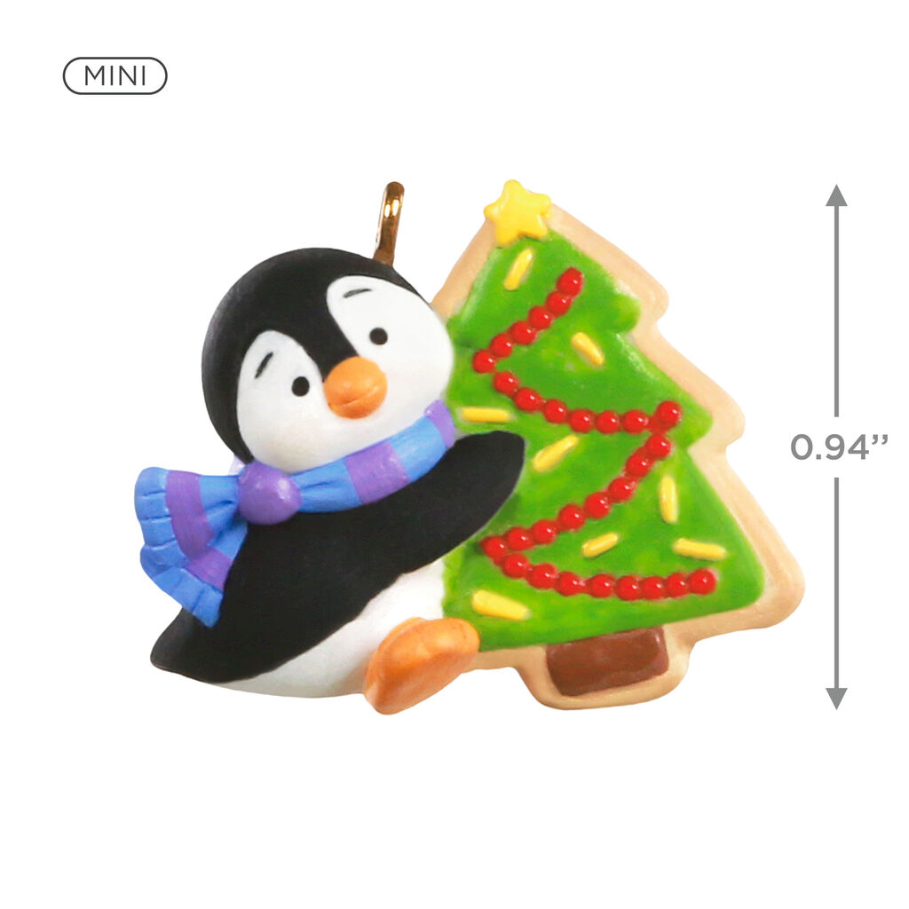 2020 Penguin Collector Christmas Ornaments 2020 Petite Penguin Miniature Hallmark Christmas Ornament