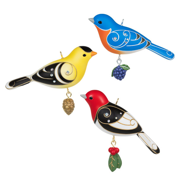 2020 Beauty of Birds - LARGE Outdoor Bird Set of 3
