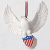 2020 Brave and Free Bald Eagle Ornament