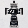 2020 Faith Always Cross Ornament