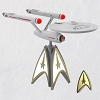 2020 Star Trek USS Enterprise Interactive Tree Topper - Ships July 13