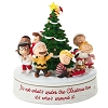 2020 Peanuts Gang Holiday Musical  Figurine - MOTION & MUSIC Tabletop