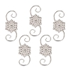 2020 Snowflake Ornament Hooks, CLUB