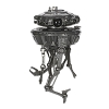 2020 Comic Con - Star Wars Imperial Probe Droid- SDCC LIMITED ED of 3200
