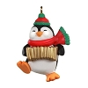 2020 Accordion Playing Penguin, Miniature CLUB Ornament