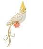 2020 Beauty of Birds  PEARL WHITE VERSION Clever Cockatiel SURPRISE