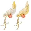 2020 Beauty of Birds  YELLOW/WHITE VERSION Clever Cockatiel SURPRISE - Avail OCT