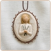 Willow Tree REMEMBERANCE - Metal-edged Ornament