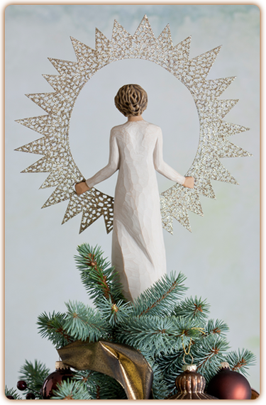 Willow Tree Starlight Tree Topper By Demdaco At Hooked On Ornaments