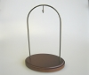Walnut Hanging Stand, 8 1/2