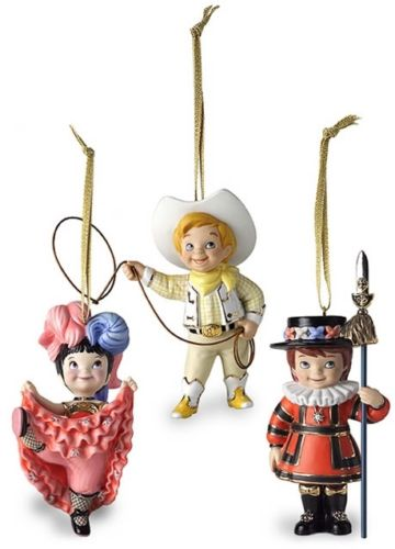2003 It's A Small World After All, Set of 3, Club - RARE