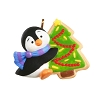 2020 Miniature - Petite Penguins #5 - A Christmas Cookie