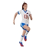 2020 Soccer ALEX MORGAN - US Womens National Soccer Team- Avail OCT