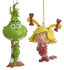 2019 Baby Grinch and Cindy Lou Who -Set of 2 - Kurt Adler Ornament