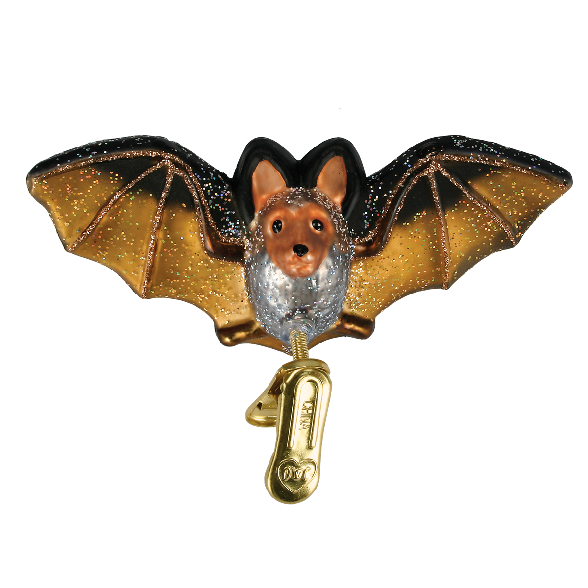 2020 Bat - Old World Christmas Blown Glass