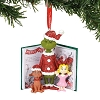2019 Grinch, Cindy Lou, and Max with book - Dept 56 Ornament