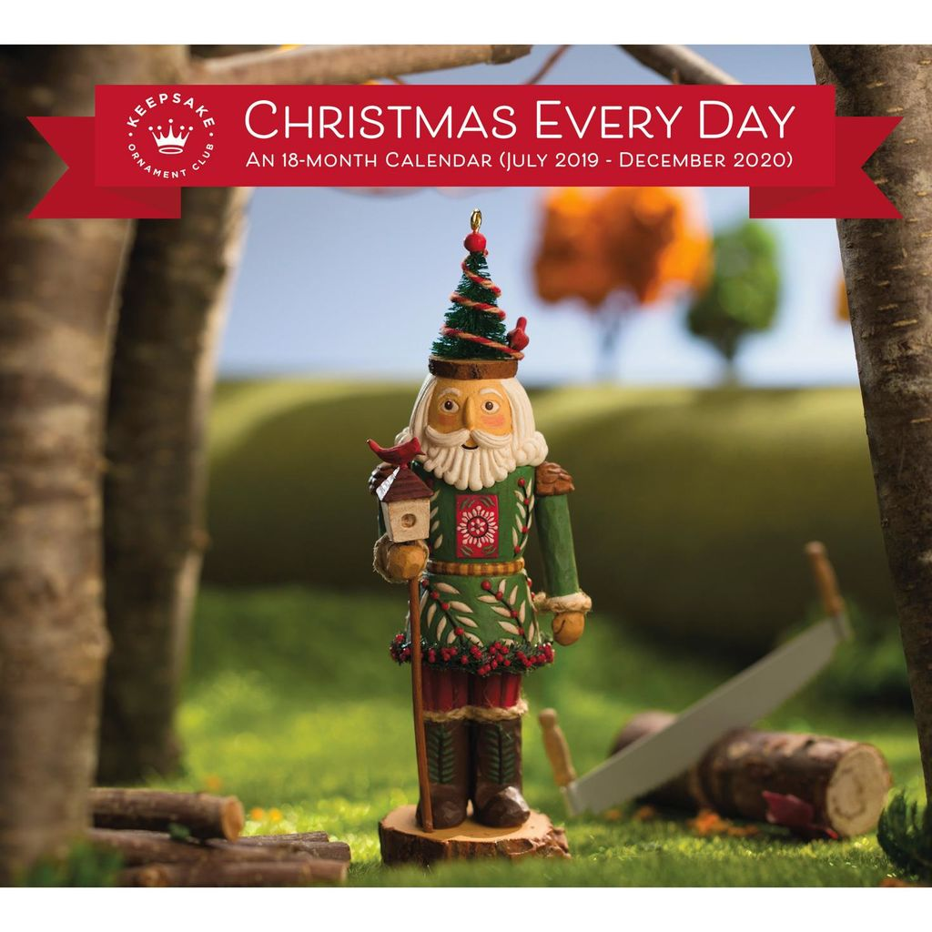 Hallmark Christmas Ornaments 2019.2019 Keepsake Ornament Club Calendar Hooked On Hallmark Ornaments