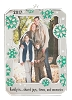 2017 Family Photo Holder - Am Greetings Ornament