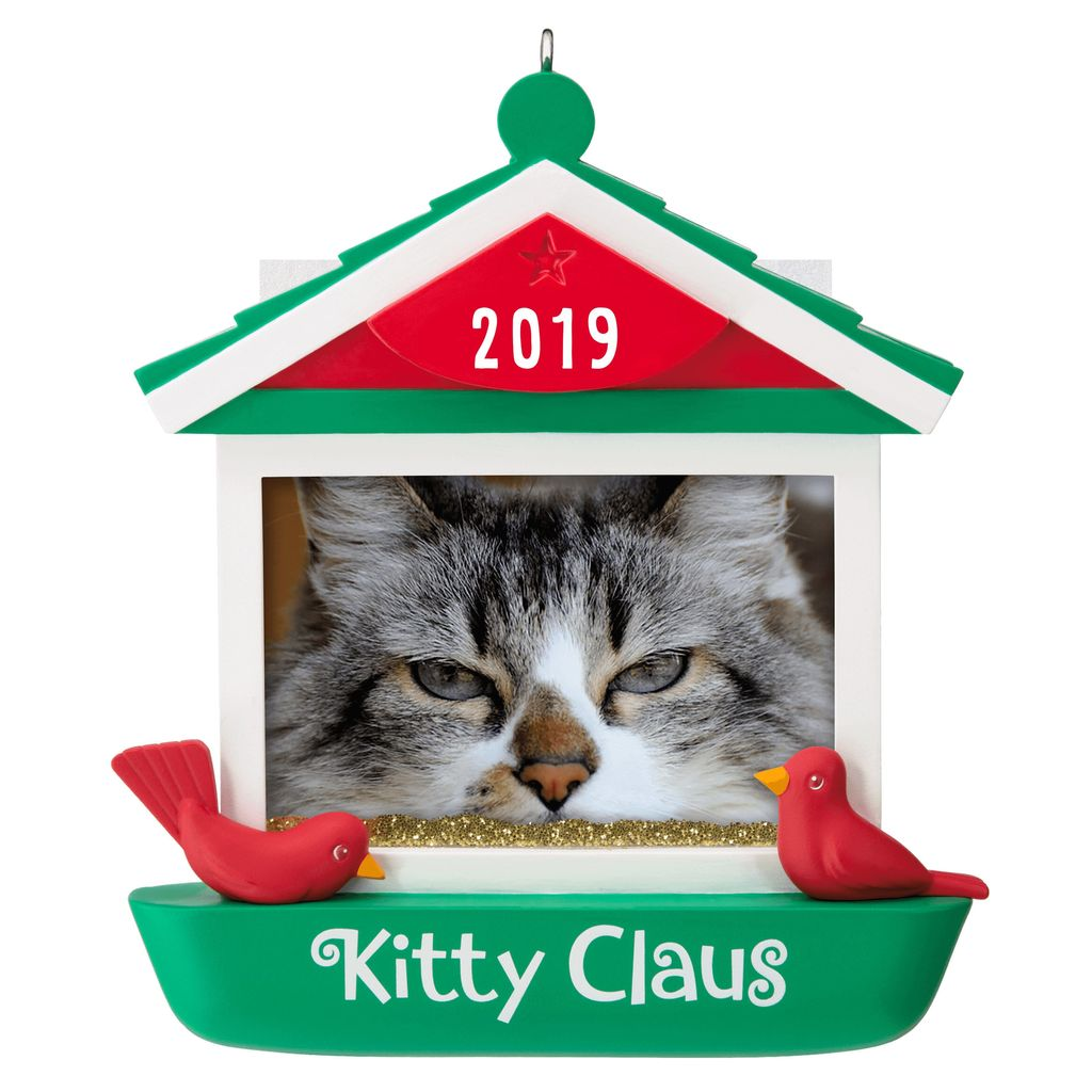 2019 Kitty Claus Photo Holder