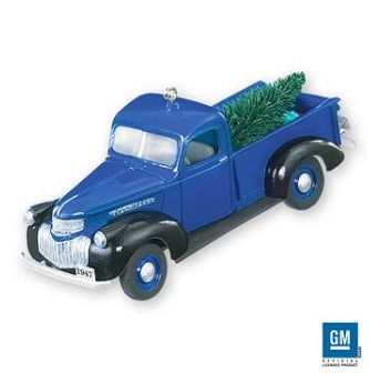 Hallmark All American Truck Christmas Ornaments