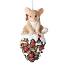2018 Charming Tails - Mouse On Pinecone