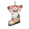 2021 Charming Tails - MOUSE IN ICE SKATE ornament